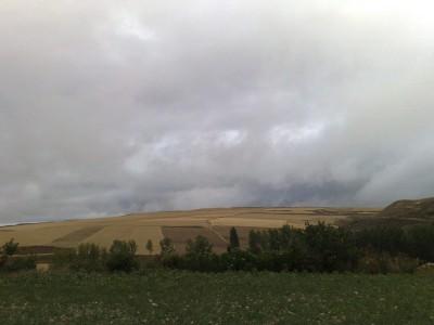 El Camino - felhős táj