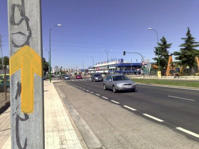 Burgos - bevezető út
