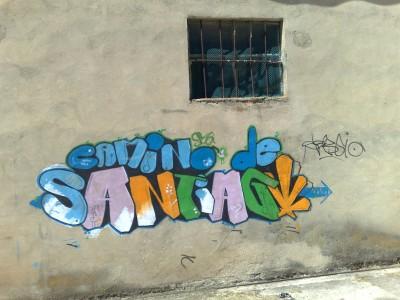 Grafiti - camino de santiago