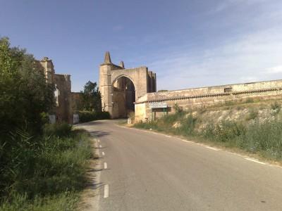 A Szent Antal kolostor romjai - el camino