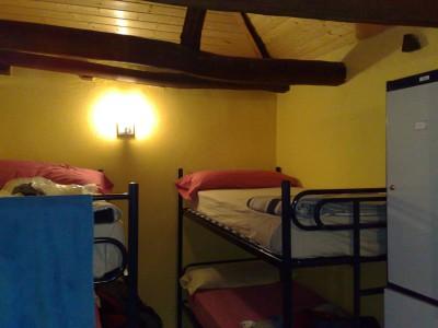 San Nicolas del Real Camino - szoba