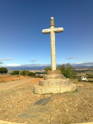 kereszt Astorga előtt