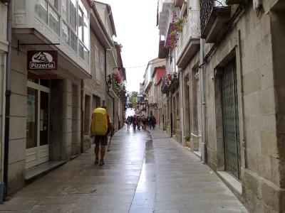 utca Sarria-ban