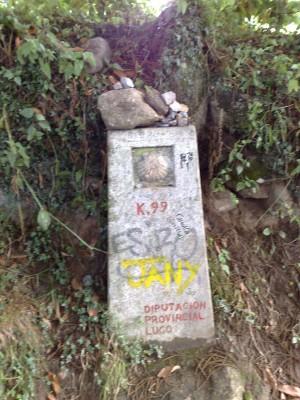 99 km Santiagoig