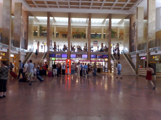 Repülőtér belülről